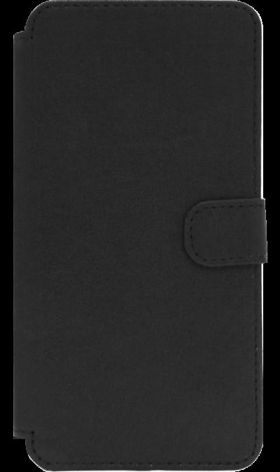 OxyFashion Чехол-книжка OxyFashion для Meizu M5, кожзам, черный