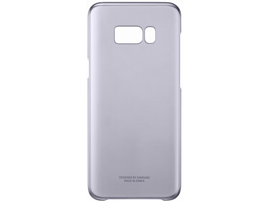 Фото Чехол-крышка Samsung для Galaxy S8, пластик, фиолетовый. Купить в РФ