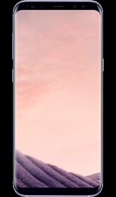 Samsung Galaxy S8 Orchid GrayСмартфоны<br>2G, 3G, 4G, Wi-Fi; ОС Android; Дисплей сенсорный емкостный 16,7 млн цв. 5.8; Камера 12 Mpix, AF; Разъем для карт памяти; MP3,  BEIDOU / GPS / ГЛОНАСС; Повышенная защита корпуса; Вес 155 г.<br><br>Colour: Фиолетовый