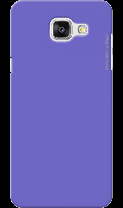 Чехол-крышка Deppa для Samsung Galaxy A5 (2016), пластик, фиолетовыйЧехлы и сумочки<br>Чехол Samsung поможет не только защитить ваш Samsung Galaxy A5 (2016) от повреждений, но и сделает обращение с ним более удобным, а сам аппарат будет выглядеть еще более элегантным.<br><br>Colour: Фиолетовый