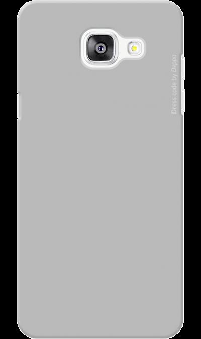 Чехол-крышка Deppa для Samsung Galaxy A5 (2016), пластик, серыйЧехлы и сумочки<br>Чехол Samsung поможет не только защитить ваш Samsung Galaxy A5 (2016) от повреждений, но и сделает обращение с ним более удобным, а сам аппарат будет выглядеть еще более элегантным.<br><br>Colour: Серый