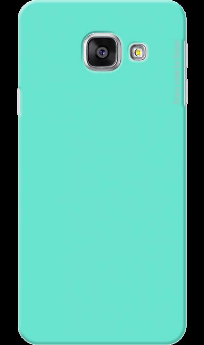 Deppa Чехол-крышка Deppa для Samsung Galaxy A3 (2016), пластик, мятный чехол для сотового телефона takeit для samsung galaxy a3 2017 metal slim металлик