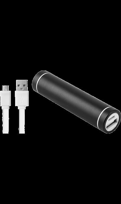 Аккумулятор NoName Power Bank, Li-Ion, 2500 мАч, черный (портативный)