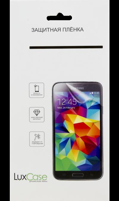 Защитная пленка LuxCase для iPhone 5/5S (глянцевая)Защитные стекла и пленки<br>Качественная защитная пленка прекрасно защищает дисплей от царапин и других следов механического воздействия. Она не содержит клеевого слоя и крепится на дисплей благодаря эффекту электростатического притяжения.<br>