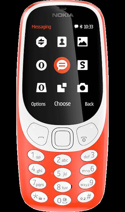 Nokia 3310 (2017) RedТелефоны<br>2G; Камера 2 Mpix; MP3, FM; Время работы 607 ч. / 22.1 ч.<br><br>Colour: Красный