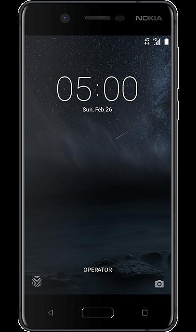 Nokia 5Смартфоны<br>2G, 3G, 4G, Wi-Fi; ОС Android; Камера 13 Mpix, AF; Разъем для карт памяти; MP3, FM,  GPS; Вес 162 г.<br><br>Colour: Черный