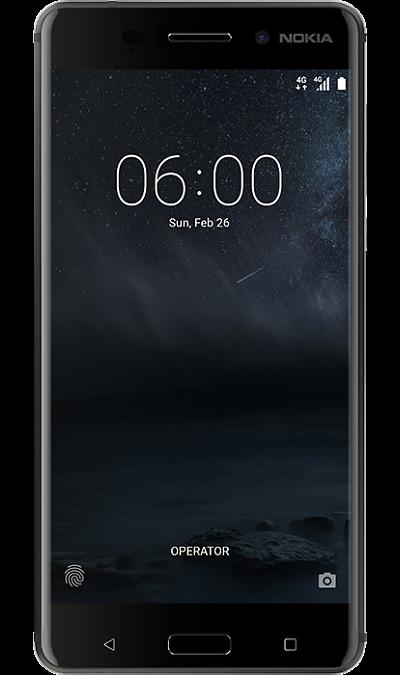 Nokia 6 32Gb BlackСмартфоны<br>2G, 3G, 4G, Wi-Fi; ОС Android; Камера 16 Mpix, AF; Разъем для карт памяти; MP3, FM,  GPS / ГЛОНАСС<br><br>Colour: Черный