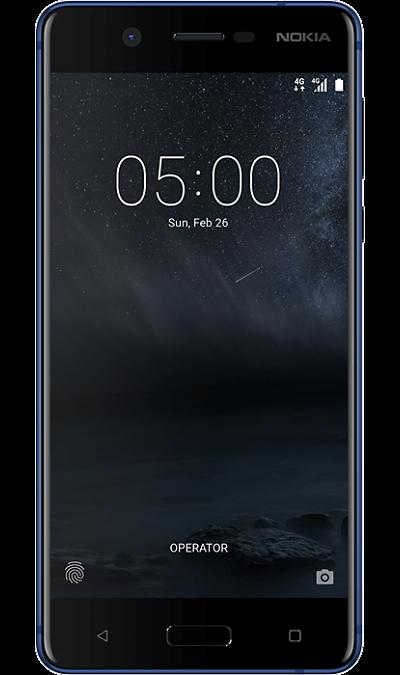 Nokia 5Смартфоны<br>2G, 3G, 4G, Wi-Fi; ОС Android; Камера 13 Mpix, AF; Разъем для карт памяти; MP3, FM,  GPS; Вес 162 г.<br><br>Colour: Синий
