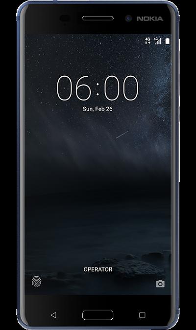 Nokia 6 32Gb BlueСмартфоны<br>2G, 3G, 4G, Wi-Fi; ОС Android; Камера 16 Mpix, AF; Разъем для карт памяти; MP3, FM,  GPS / ГЛОНАСС<br><br>Colour: Синий