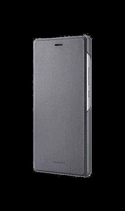 Huawei Чехол-книжка Huawei для P9 lite, полиуретан, серый купить чехол для huawei w1 в минске