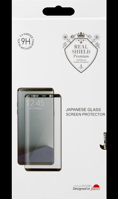 Защитное стекло Real Shield для Samsung Galaxy S8Защитные стекла и пленки<br>Качественное защитное стекло прекрасно защищает дисплей от царапин и других следов механического воздействия. Оно не содержит клеевого слоя и крепится на дисплей благодаря эффекту электростатического притяжения.<br>