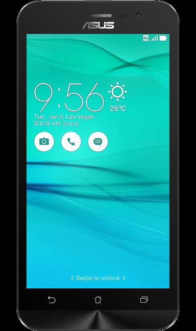 ASUS ZenFone Go ZB500KL 32GbСмартфоны<br>2G, 3G, 4G, Wi-Fi; ОС Android; Дисплей сенсорный 16,7 млн цв. 5; Камера 13 Mpix, AF; Разъем для карт памяти; MP3, FM,  GPS / ГЛОНАСС; Вес 151 г.<br><br>Colour: Черный