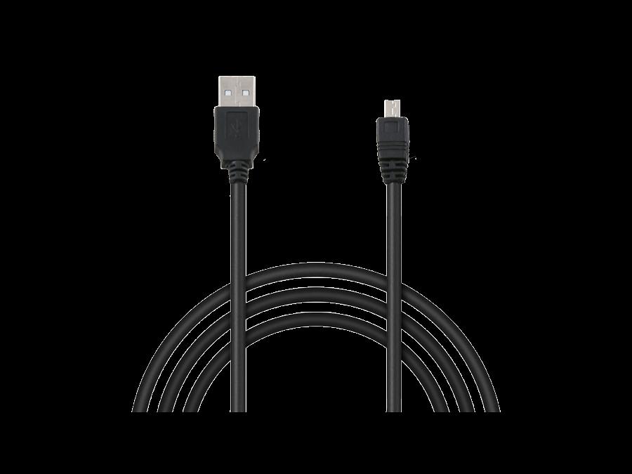 Кабель Continent mini USB - USB