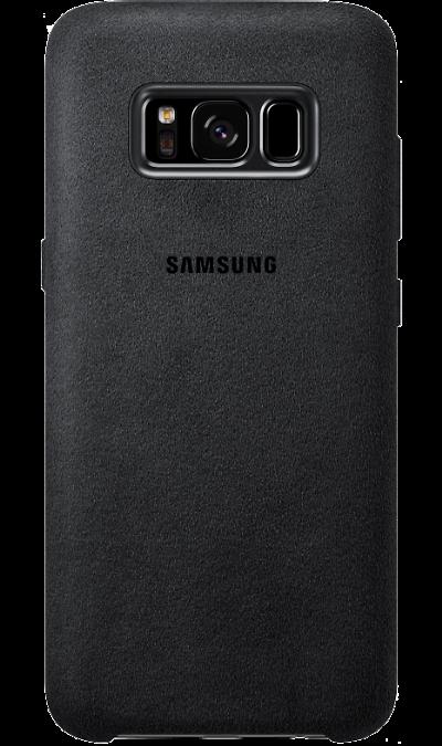 Samsung Чехол-крышка Samsung для Galaxy S8 Plus, алькантара, серый чехлы для телефонов burkley чехол бампер samsung galaxy s8 plus