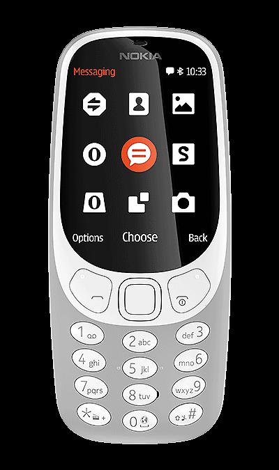 Nokia 3310 (2017) GreyТелефоны<br>2G; Камера 2 Mpix; MP3, FM; Время работы 607 ч. / 22.1 ч.<br><br>Colour: Серый