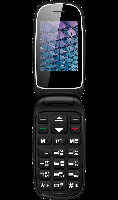 Vertex C310 BlackТелефоны<br>2G; Камера 0.3 Mpix; Разъем для карт памяти; MP3, FM; Время работы 110 ч. / 6.0 ч.<br><br>Colour: Черный