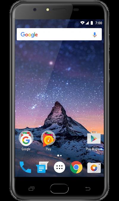 VERTEX Impress FortuneСмартфоны<br>2G, 3G, 4G, Wi-Fi; ОС Android; Дисплей сенсорный емкостный 16,7 млн цв. 5.5; Камера 8 Mpix, AF; Разъем для карт памяти; MP3, FM,  GPS; Время работы 330 ч. / 6.0 ч.; Вес 155 г.<br><br>Colour: Черный