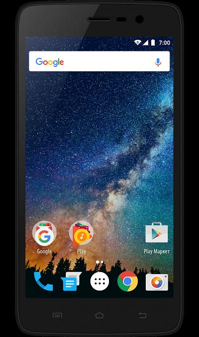 VERTEX Impress SaturnСмартфоны<br>2G, 3G, 4G, Wi-Fi; ОС Android; Камера 5 Mpix; Разъем для карт памяти; MP3, FM,  GPS; Время работы 300 ч. / 5.0 ч.; Вес 155 г.<br><br>Colour: Черный