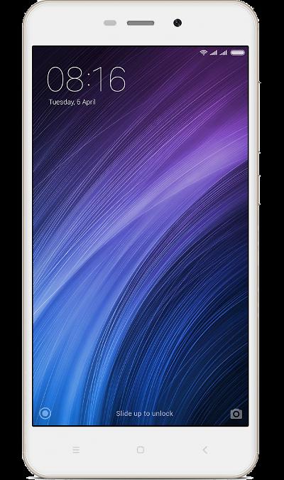 Xiaomi Redmi 4A 32GbСмартфоны<br>2G, 3G, 4G, Wi-Fi; ОС Android; Дисплей сенсорный 16,7 млн цв. 5; Камера 13 Mpix, AF; Разъем для карт памяти; MP3, FM,  BEIDOU / GPS / ГЛОНАСС; Вес 131 г.<br><br>Colour: Золотистый