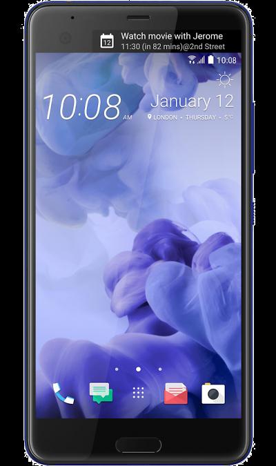 HTC U Ultra Sapphire BlueСмартфоны<br>2G, 3G, 4G, Wi-Fi; ОС Android; Дисплей сенсорный емкостный 16,7 млн цв. 5.7; Камера 12 Mpix, AF; Разъем для карт памяти; MP3, FM,  BEIDOU / GPS / ГЛОНАСС; Время работы 900 ч. / 26.0 ч.; Вес 170 г.<br><br>Colour: Синий