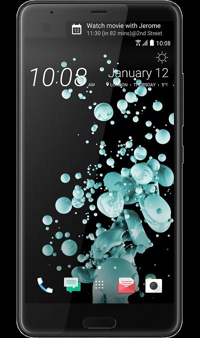 HTC U Ultra Brilliant BlackСмартфоны<br>2G, 3G, 4G, Wi-Fi; ОС Android; Дисплей сенсорный емкостный 16,7 млн цв. 5.7; Камера 12 Mpix, AF; Разъем для карт памяти; MP3, FM,  BEIDOU / GPS / ГЛОНАСС; Время работы 900 ч. / 26.0 ч.; Вес 170 г.<br><br>Colour: Черный
