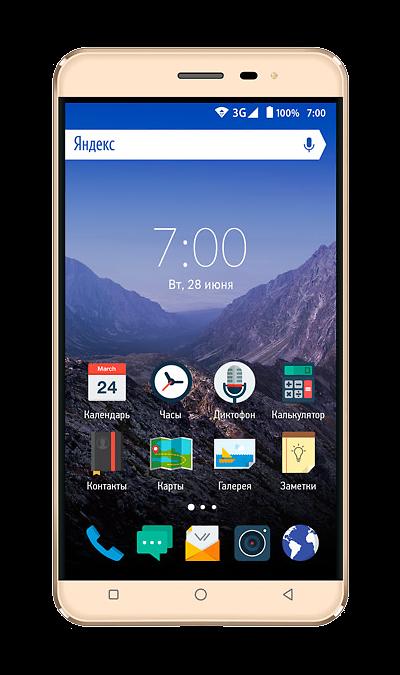 VERTEX Impress EagleСмартфоны<br>2G, 3G, Wi-Fi; ОС Android; Дисплей сенсорный емкостный 16,7 млн цв. 5; Камера 8 Mpix, AF; Разъем для карт памяти; MP3, FM,  GPS; Время работы 170 ч. / 5.0 ч.; Вес 154 г.<br><br>Colour: Золотистый