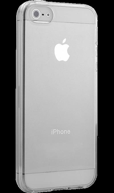 Ibox Crystal Чехол-крышка Ibox Crystal для Apple iPhone 5/5S, силикон, прозрачный чехол ibox crystal для apple iphone 5s se gray