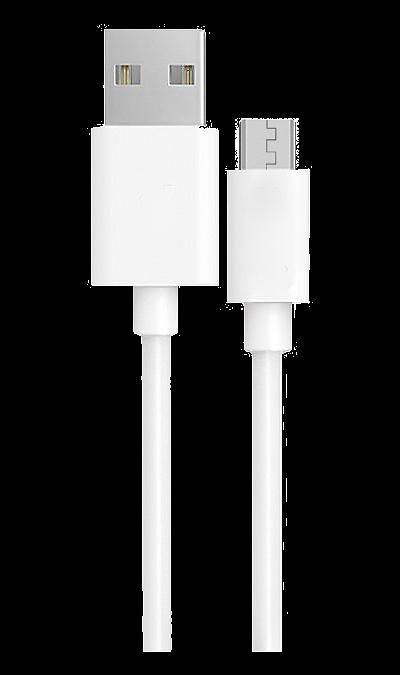 Continent Кабель Continent USB A - micro USB B 2.0 (белый) кабель hama h 173672 00173672 micro usb b m usb a m 0 6м черный