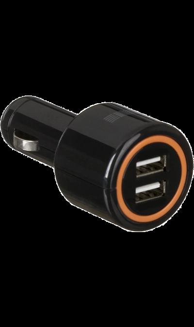 Зарядное устройство автомобильное Inter-Step 2,1A (microUSB)Зарядные устройства<br>Автомобильное зарядное устройство совместимо с широким рядом устройств, включая смартфон, камеру, беспроводную гарнитуру и браслеты. Благодаря этому вы сможете быстро зарядить нужное устройство прямо в дороге.<br><br>Colour: Черный