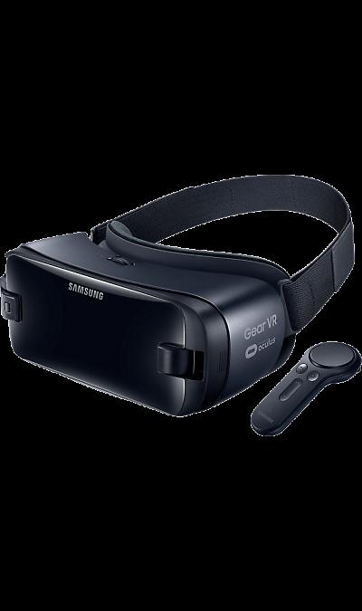 Samsung Gear VR (SM-R324)Другие устройства<br>Надев очки Gear VR, Вы сможете шагнуть за рамки привычного, испытать самые невероятные приключения в мире виртуальной реальности. Обновлённые Gear VR получили в комплекте интерактивный джойстик, с которым Вы сможете быть не только наблюдателем, но и участником событий!<br>Ещё легче и комфортнее.<br>В очках Gear VR Вы забудете о том, что находитесь в мире виртуальной реальности, ведь они такие лёгкие и удобные! Они комфортно фиксируются на лице с помощью мягкой подкладки, которая к ...<br><br>Colour: Черный
