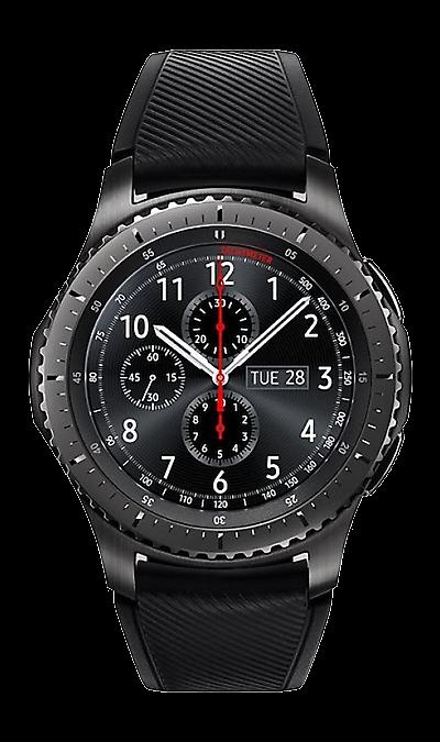 Samsung Gear S3 FrontierУмные часы<br>Ведите активный образ жизни вместе с Gear S3 frontier. Умные часы объединяют в себе исключительный стиль и надежность. Оснащенные корпусом из сплава нержавеющей стали 316L, защищенные от ударов, они работают даже при высоких и низких температурах. Лазерная гравировка на рифленом безеле Gear S3 frontier не только подчеркивает уникальный дизайн, но и делает их использование более удобным. <br>Инновации в прочном корпусе.<br>Gear S3 frontier вобрали в себя все самое лучшее от ...<br>