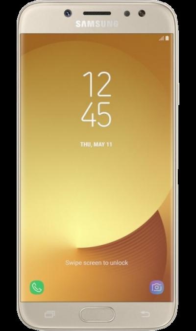 Samsung Galaxy J5 (2017) 16GbСмартфоны<br>2G, 3G, 4G, Wi-Fi; ОС Android; Дисплей сенсорный емкостный 16,7 млн цв. 5.2; Камера 13 Mpix, AF; Разъем для карт памяти; MP3, FM,  BEIDOU / GPS / ГЛОНАСС; Вес 160 г.<br><br>Colour: Золотистый
