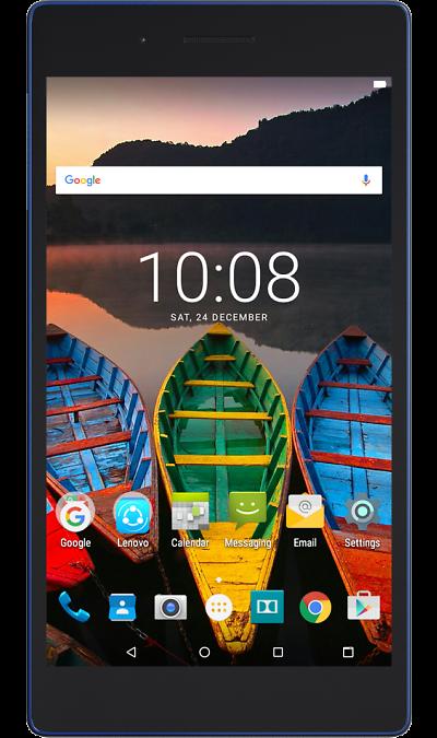 Lenovo TAB 3 730X 16GB LTEПланшеты<br>2G, 3G, 4G, Wi-Fi; ОС Android; Дисплей сенсорный емкостный 16,7 млн цв. 7; Камера 5 Mpix; Разъем для карт памяти; MP3, FM,  GPS; Время работы 950 ч. / 20.0 ч.; Вес 251 г.<br><br>Colour: Синий