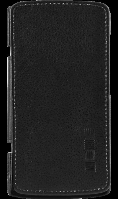 Inter-Step Чехол-книжка Inter-Step для ZTE Blade L5/L5 Plus, кожзам, черный inter step чехол книжка inter step для zte blade v7 lite кожзам черный