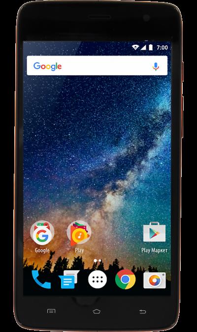 VERTEX Impress SaturnСмартфоны<br>2G, 3G, 4G, Wi-Fi; ОС Android; Камера 5 Mpix; Разъем для карт памяти; MP3, FM,  GPS; Время работы 300 ч. / 5.0 ч.; Вес 155 г.<br><br>Colour: Оранжевый
