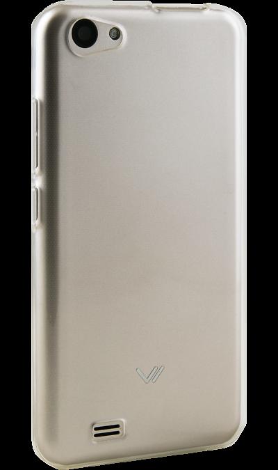 Чехол-крышка InterStep для Vertex Impress Luck, силикон, прозрачный фото