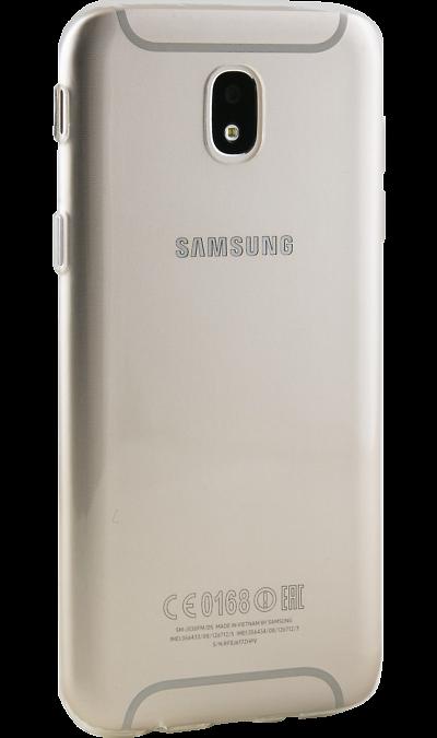 Inter-Step Чехол-крышка Inter-Step для Samsung J5 (2017), силикон, прозрачный чехол для samsung galaxy s4 inter step is view hiv sagas4k black