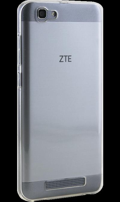 Inter-Step Чехол-крышка Inter-Step для ZTE Blade A610 , силикон, прозрачный inter step чехол книжка inter step для zte blade v7 lite кожзам черный