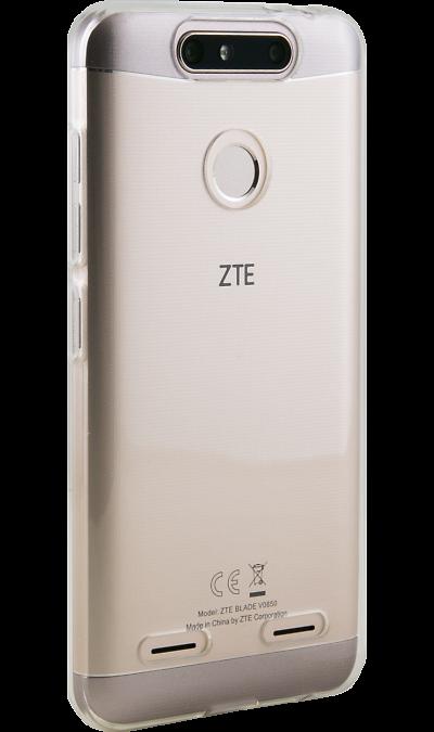 Inter-Step Чехол-крышка Inter-Step для ZTE Blade V8 mini, силикон, прозрачный смартфон zte blade v8 mini 32gb gold