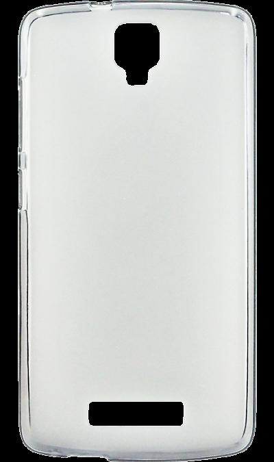 Чехол-крышка Inter-Step для ZTE Blade L5 Plus, силикон, прозрачныйЧехлы и сумочки<br>Чехол поможет не только защитить ваш смартфон от повреждений, но и сделает обращение с ним более удобным, а сам аппарат будет выглядеть еще более элегантным.<br>