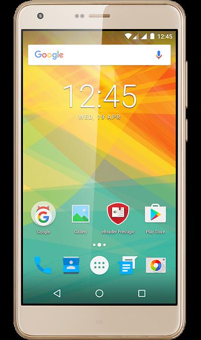 Prestigio Grace S7 LTE GoldСмартфоны<br>2G, 3G, 4G, Wi-Fi; ОС Android; Камера 13 Mpix, AF; Разъем для карт памяти; MP3, FM,  GPS; Вес 133 г.<br><br>Colour: Золотистый