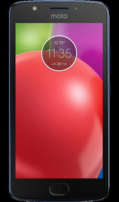 Смартфон Motorola Moto E4Смартфоны<br>2G, 3G, 4G, Wi-Fi; ОС Android; Камера 8 Mpix; Разъем для карт памяти; MP3, FM,  GPS; Вес 151 г.<br><br>Colour: Синий