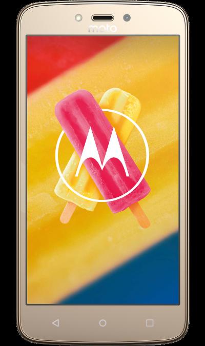Motorola Moto C Plus 16GBСмартфоны<br>2G, 3G, 4G, Wi-Fi; ОС Android; Камера 8 Mpix; Разъем для карт памяти; MP3, FM,  GPS; Время работы 597 ч. / 39.0 ч.; Вес 162 г.<br><br>Colour: Золотистый