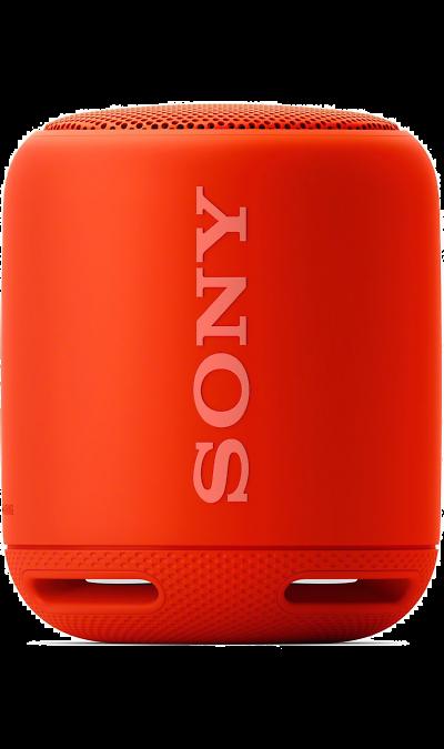 Sony SRS-XB10Портативная акустика<br>Подключите музыку и наслаждайтесь звуком лучшего качества.<br>Слушайте музыку в режиме потокового воспроизведения с помощью подключений Bluetooth и NFC. Благодаря цифровому усилителю S-Master и технологии цифрового улучшения звука DSEE вся музыка будет звучать великолепно. Наслаждайтесь музыкой, хранящейся на смартфоне, планшете, ПК или портативном аудиоустройстве, в еще более лучшем качестве в любом месте.<br>Разработаны для потрясающего звука.<br>Союз технологий, ...<br><br>Colour: Красный