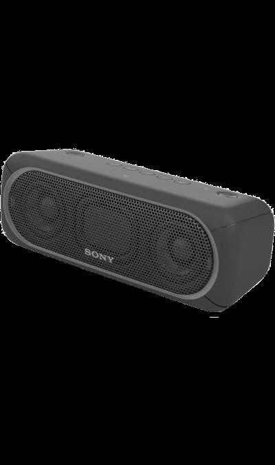 Sony SRS-XB30Портативная акустика<br>Прочувствуйте музыку благодаря EXTRA BASS.<br>Чтобы раскачать вечеринку, просто нажмите кнопку EXTRA BASS. Двойные пассивные излучатели в сочетании с полнодиапазонными стереодинамиками усиливают звучание низких частот, придавая им неожиданную глубину для такой компактной системы.<br><br>Подсветка для зажигательных танцев.<br>Многоцветная линейная подсветка и стробоскоп создадут у вас в гостиной атмосферу ночного клуба.<br><br>Время работы от аккумулятора до 24 ...<br><br>Colour: Черный
