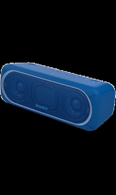 Sony SRS-XB30Портативная акустика<br>Прочувствуйте музыку благодаря EXTRA BASS.<br>Чтобы раскачать вечеринку, просто нажмите кнопку EXTRA BASS. Двойные пассивные излучатели в сочетании с полнодиапазонными стереодинамиками усиливают звучание низких частот, придавая им неожиданную глубину для такой компактной системы.<br><br>Подсветка для зажигательных танцев.<br>Многоцветная линейная подсветка и стробоскоп создадут у вас в гостиной атмосферу ночного клуба.<br><br>Время работы от аккумулятора до 24 ...<br><br>Colour: Синий