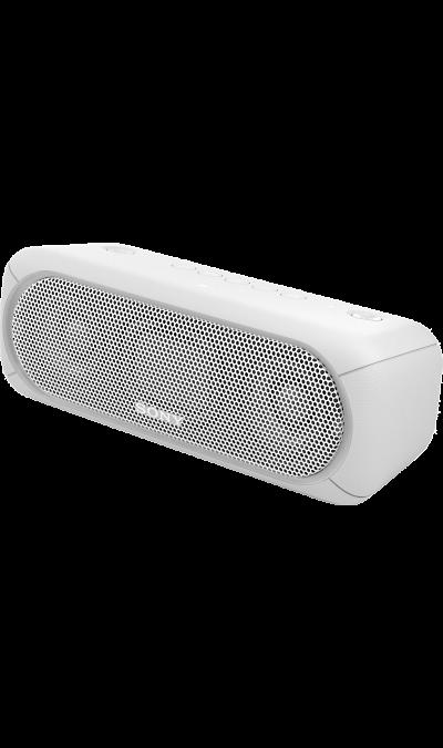 Sony SRS-XB30Портативная акустика<br>Прочувствуйте музыку благодаря EXTRA BASS.<br>Чтобы раскачать вечеринку, просто нажмите кнопку EXTRA BASS. Двойные пассивные излучатели в сочетании с полнодиапазонными стереодинамиками усиливают звучание низких частот, придавая им неожиданную глубину для такой компактной системы.<br><br>Подсветка для зажигательных танцев.<br>Многоцветная линейная подсветка и стробоскоп создадут у вас в гостиной атмосферу ночного клуба.<br><br>Время работы от аккумулятора до 24 ...<br><br>Colour: Белый