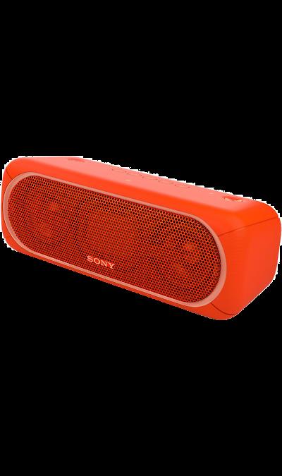 Sony SRS-XB40Портативная акустика<br>Переносной ночной клуб.<br>С мощными басами и яркой подсветкой беспроводная акустическая система SRS-XB40 может превратить любое помещение в настоящий ночной клуб.<br><br>Почувствуйте ритм.<br>Мощное звучание, которое всегда с вами.<br><br>Отрывайтесь на полную с EXTRA BASS.<br>Чтобы раскачать вечеринку, просто нажмите кнопку EXTRA BASS. Двойные пассивные излучатели в сочетании с двумя полнодиапазонными динамиками усиливают звучание низких частот, придавая им ...<br><br>Colour: Красный