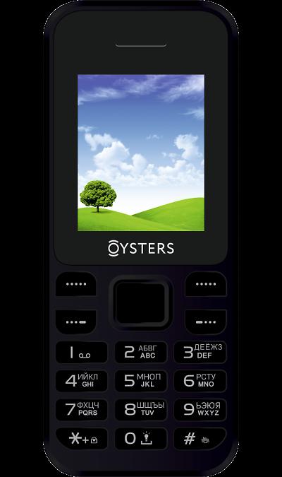 Телефон Oysters Angarsk Black + подключение к МегаФонТелефоны<br><br>