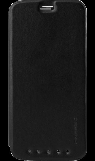 Чехол-книжка Gresso для ZTE Axon 7, полиуретан, черныйЧехлы и сумочки<br>Удобный чехол для для ZTE Axon 7 поможет не только защитить ваш смартфон от повреждений, но и сделает обращение с ним более удобным, а сам аппарат будет выглядеть еще более элегантным.<br><br>Colour: Черный